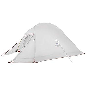 Naturehike Cloud-up 3 Tente Légère Tente 3 Personnes Camping et Trekking 3-4 Saisons(avec Jupe 20D)