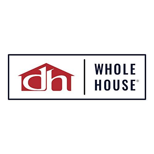 Design House 519884 Kimball 1 Semi Flush Mount Ceiling Light, Coffee Bronze