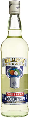 Belmont Estate white Coconut Rum, 1er Pack (1 x 700 ml)