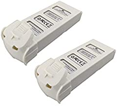 Ocamo 2PCS 7.4V 2000mah Lithium Battery for XK X300 X300-F X300-W RC Four-axis Aircraft Special Accessories Battery Pack