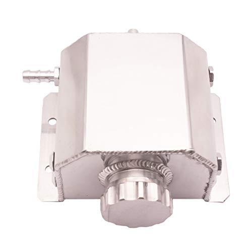MagiDeal Depósito Universal de Depósito de Latas de Aceite de Aluminio de 1L con Tapón de Drenaje Pulido