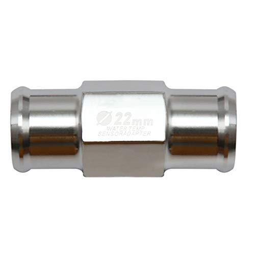 Adoolla CNC Universal Motorrad Messgerät Wassertemperatur Temperatur Sensor Adapter 18 mm 22 mm 18 mm rot