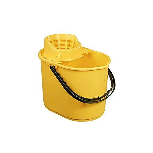 Ramon Hygiene 5050Y - Cubo para fregona (12 L), color amarillo