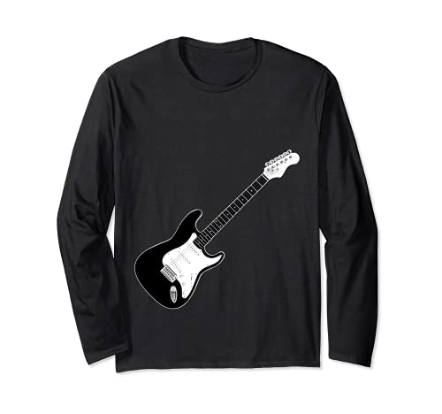 Guitarra Strat Player Hard Rock Heavy Metal Banda de música Manga Larga