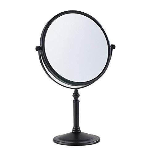 DCLINA Espejo Maquillaje para Mujer, Espejo Maquillaje para Mujer Escritorio/Espejo tocador Doble Cara/Espejo Princesa portátil/Espejo Belleza para baño, 3 aumentos