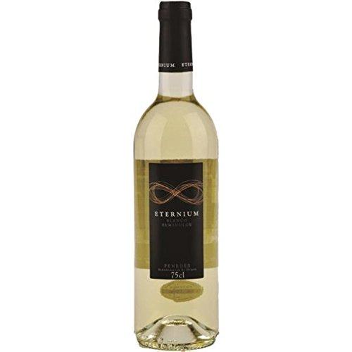 Eternium Vino Semi Blanco de 11º - Paquete de 6 botellas de 75 - Total 450 cl