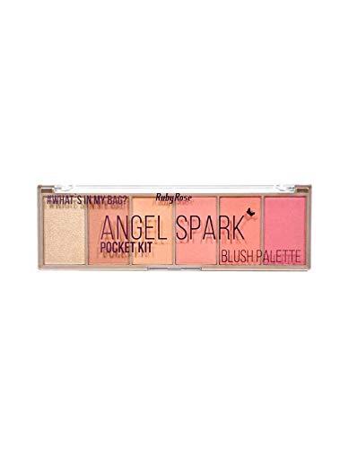 Paleta de Blush Pocket Angel Spark HB 6108 - Ruby Rose