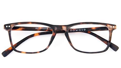 Occhiali Lettura +2.50 | Occhiali da presbite per PC e Smartphone|Occhiali riposanti ANTI LUCE BLU 40% e UV 100% | Unisex |+2.50 Tartarugato