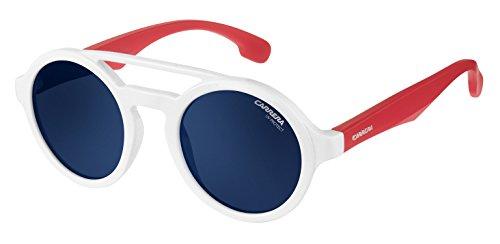Carrera Junior Carrerino 19 KU Gafas de sol, Blanco (WHITE RED/BLUEE AVIO), 44 Unisex-Niño