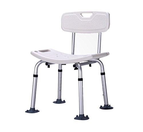WSJ-Duschhocker Duschstühle Hygiene und Körperpflege Badezimmerhocker für ältere Menschen Behinderte Schwangere Maximale Belastung 150 kg