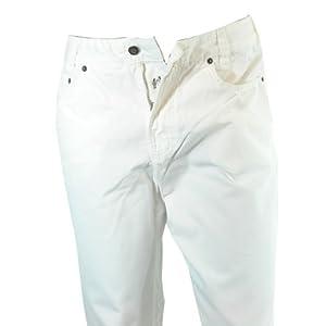 JOKER Jeans Harlem Walker Gabardine weiss,