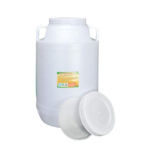 Reisen Kampierender Wassertankplastikwasservorratsbehälter, Auto Tragbarer Eimer Haushalt Trinkwasserspeichereimer Notfallwasservorratstank, Säure- Und Alkalibeständig Industrielles Chemisches Fass