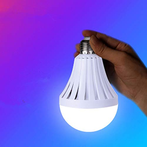7W / 9W / 12W LED automatisch opgeladen noodlamp voor buitenverlichting E27