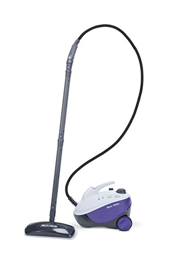 Sienna Eco Pro SSC-0412 Multi Purpose Steam Cleaner, Portable Steam Canister, Hardwood Floor Steamer, Shower Steam Cleaner, Garment Steamer, Outdoor Steam cleaner, High Pressure Steam Cleaner, Adjustable pressure steam cleaner