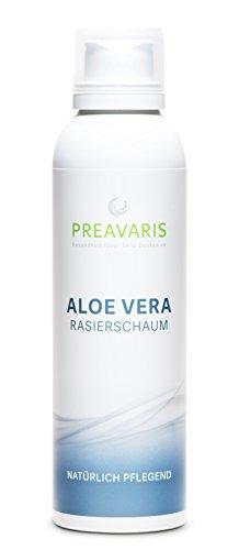 Aloe Vera Rasierschaum • mit 40 % Aloe Vera   100 % Natürlich   Für Frauen und Männer   Für eine milde und angenehme Rasur