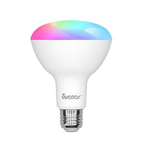 mächtig der welt Smart E27 LED-Lampe, Smart Home Alexa-Lampe 9W WiFi-Lampe, RGBW, kein Hub…