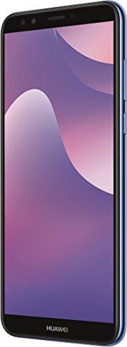 Huawei Y7 2018 Dual-SIM Smartphone BUNDLE 15,2 cm (5,99 Zoll) (3000mAh Akku, 16 GB Speicher, Android 8.0), blau + gratis 16 GB Speicherkarte [Exklusiv bei Amazon]