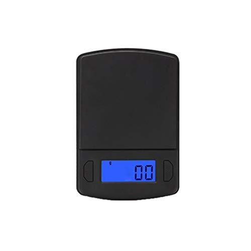 Digitalwaage Feinwaage die in 0,1/0,01 g Schritten präzise bis 100/200/300/500g wiegt, Taschenwaage, Briefwaage, Goldwaage, Tischwaage,Lebensmittelwaage,Küchenwaage (300g/0,01g)