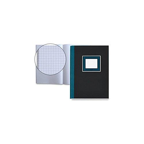 Basicos Mr 3131, Cuaderno Cosido A5 de Cartón Extraduro, 80 hojas, 5 mm, Gris Marengo y Azul