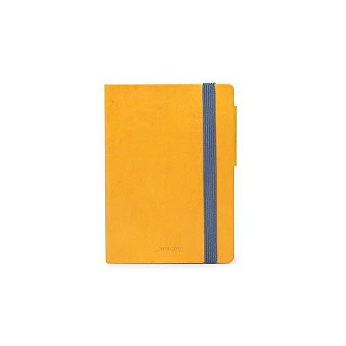 Legami - Agenda Giornaliera 16 Mesi 2020/2021 Small, Yellow