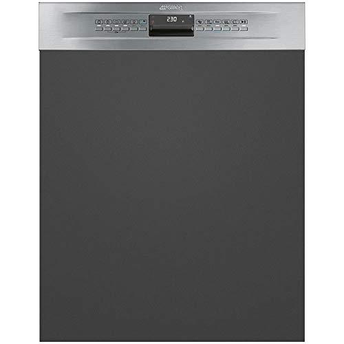 Smeg PL5335X Semi intégré 13places A+++ lave-vaisselle - Lave-vaisselles (Semi intégré, Taille maximum (60 cm), Acier inoxydable, Tactil, LED, panier)