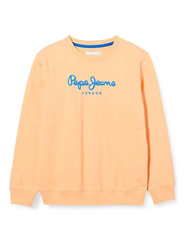 Pepe Jeans Cameron Sudadera, Naranja (112acid Orange 112), 14-15 años (Talla del Fabricante: 14) para Niños