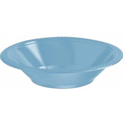 Nouveau bleu caraïbe gobelets en plastique 355 ml//50