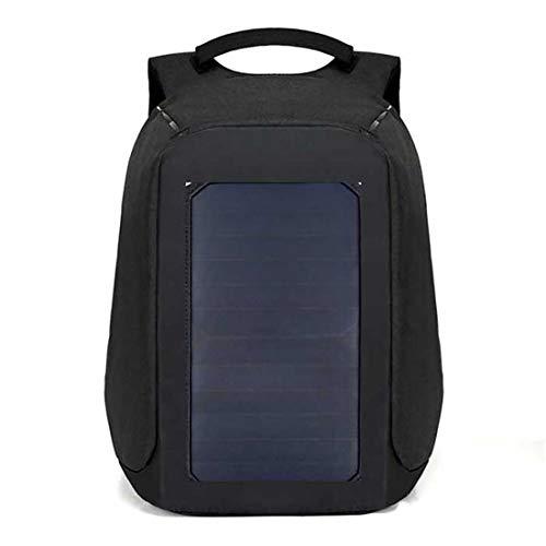 Solar Rucksack 6.5 Watt Solar Paneel, Pendler-Rucksack, Mit USB Ladeanschluss, Für Den Außenbereich, Multifunktional, Für Reise/Schule/Arbeit