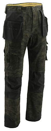 Caterpillar Herren Trademark Trouser Arbeitshose, Night Camo, 30W / 32L