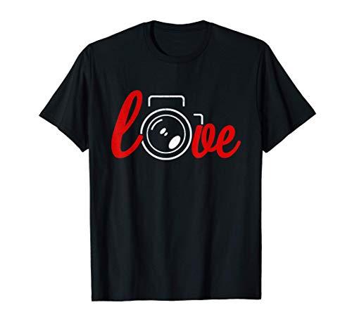 Me encanta mi cámara - accesorios de fotógrafo Camiseta