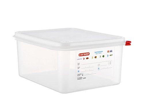 Araven - Contenedor hermético Gastronorm 1. 2 L. 12,5 325 x 265 x 20