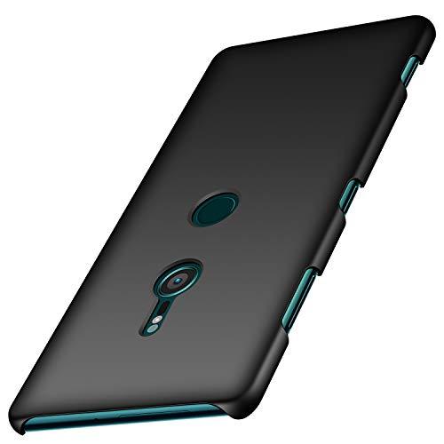 Sony Xperia XZ3 Hülle, Anccer [Serie Matte] Elastische Schockabsorption & Ultra Thin Design für Sony Xperia XZ3 (Glattes Schwarzes)