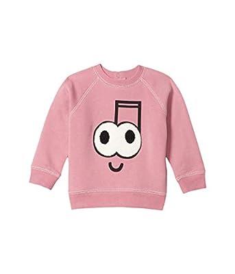 Stella McCartney Kids Baby Girl's Music Note Sweatshirt (Infant) Pink 9 Months