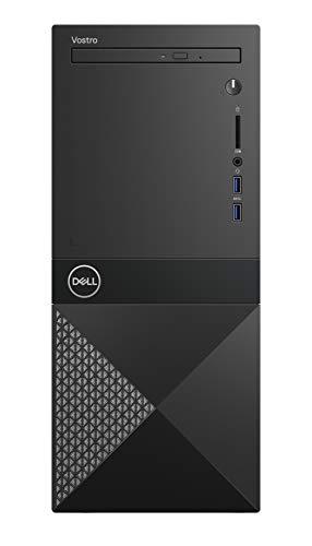 DELL Vostro 3670 3.6 GHz 8th Gen Intel® Core™ i3 i3-8100 Black Mini Tower PC - Ordenador de sobremesa (3.6 GHz, 8th Gen Intel® Core™ i3, 8 GB, 23128 GB, DVD±RW, Windows 10 Pro)