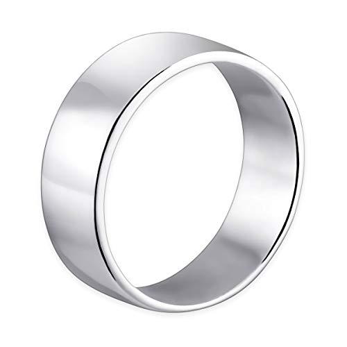 MATERIA–Anillo Hombre Mujer grabado Fabio–925plata anillo grande de ancho 1617181920mm incluye Caja Anillo # Sr de 29