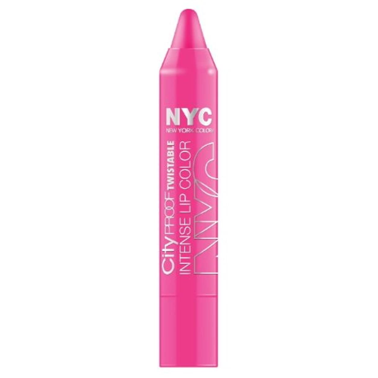 繕う処理復活するNYC City Proof Twistable Intense Lip Color - Fulton St Fuchsia (並行輸入品)