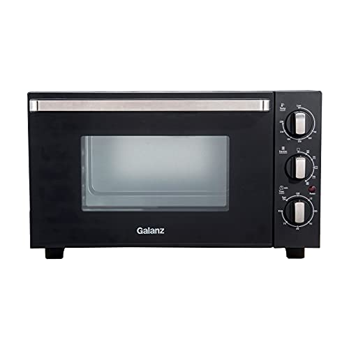 Galanz 30L Mini Oven, Combination with 1500W Grill & Convection, Compact Manual...