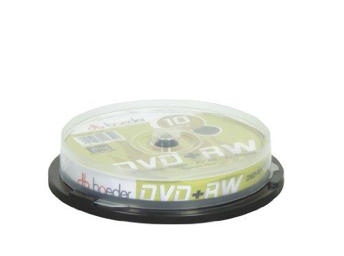 Geha 00116522 Boeder DVD+RW 4,7GB, 4xSpeed, 10er Cakebox