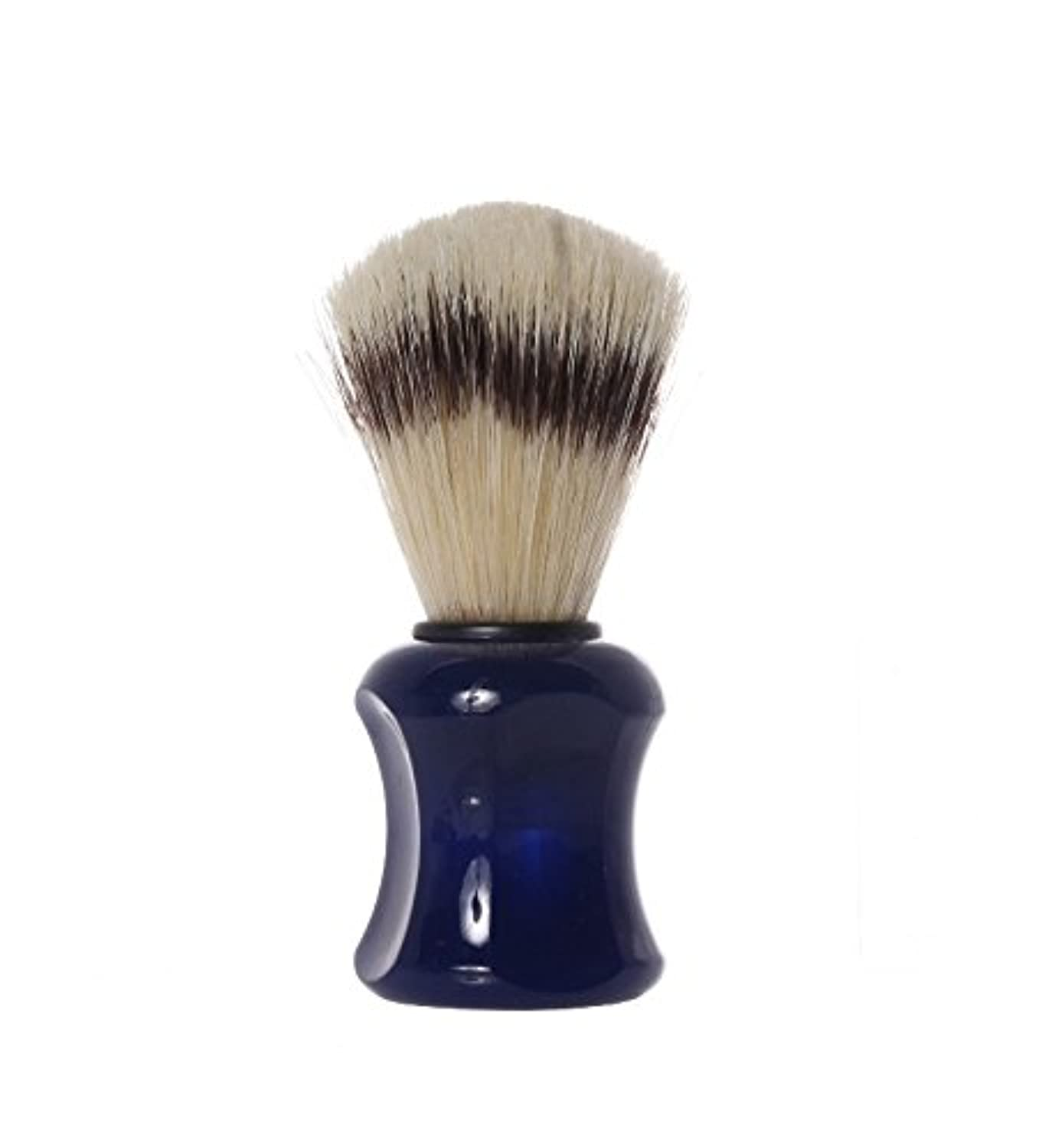 Shaving Brush with pig′s bristles, 10,0 cm, blue - Erbe Solingen