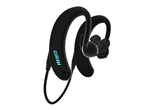 KuaiFit Waterproof Headphones – Under Water Heart Rate Monitor, Fitness Tracker, MP3 Player, 8GB Memory, Bluetooth, BLE, ANT+, Audio Coach – Swimming Headphones