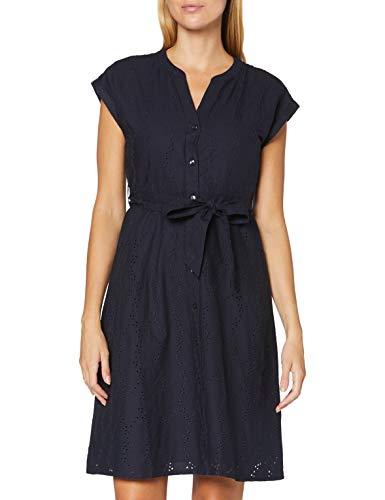 ESPRIT Damen 040EE1E325 Kleid, 400/NAVY, 38