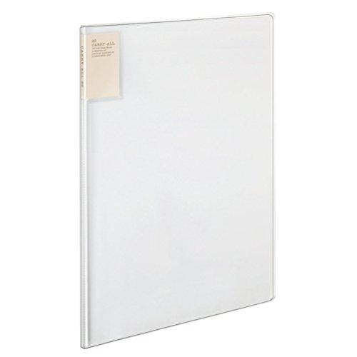 コクヨ ファイル クリアファイル キャリーオール 固定式 背ポケット B4 20ポケット 透明 ラ-5824T