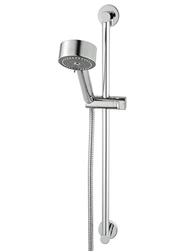 Haceka Kosmos Chrome 1123618, douchewandstang inclusief doucheset