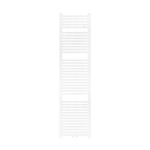 VILSTEIN Badheizkörper, Horizontal, Weiß, Seitenanschluss und Mittelanschluss, 1800x450 mm