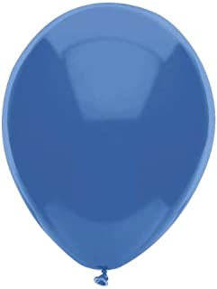 PartyMate 76530 Made in the USA Pastel Color 12-Inch Latex Balloons, 72-Count, Periwinkle