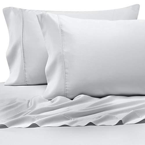 Pure Beech 100% Modal Sateen King Sheet Set in White