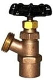 Legend 107-544NL R-670 No Lead MNPT 1//4 Turn Ball Type Boiler Drain Valve 3//4