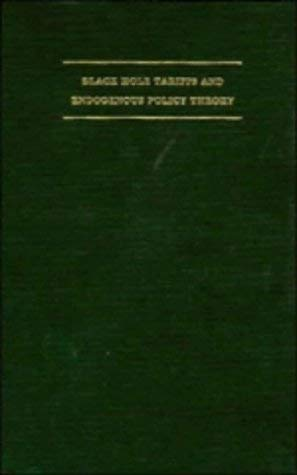 [(Black Hole Tariffs and Endogenous Policy Theory: Political Economy in General Equilibrium )] [Author: Stephen P. Magee] [Sep-1989]