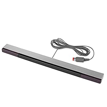 TNP Wired Infrared IR Sensor Bar with Stand Motion Controller Tracker Replacement for Nintendo Wii / Wii U Consoles