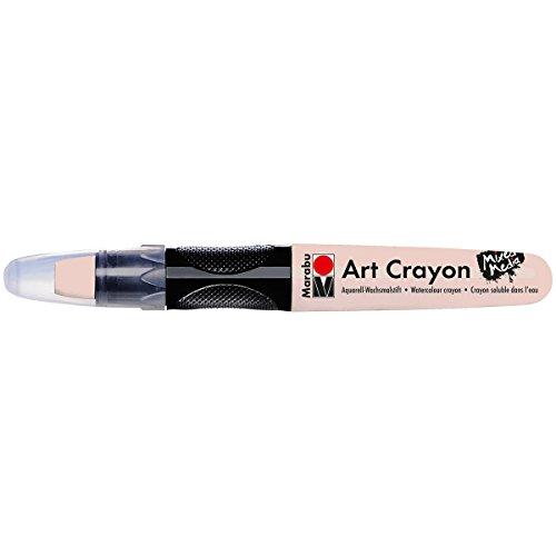 Marabu Watercolor Art Crayon for Mixed Media: Flesh Color, Multicolor